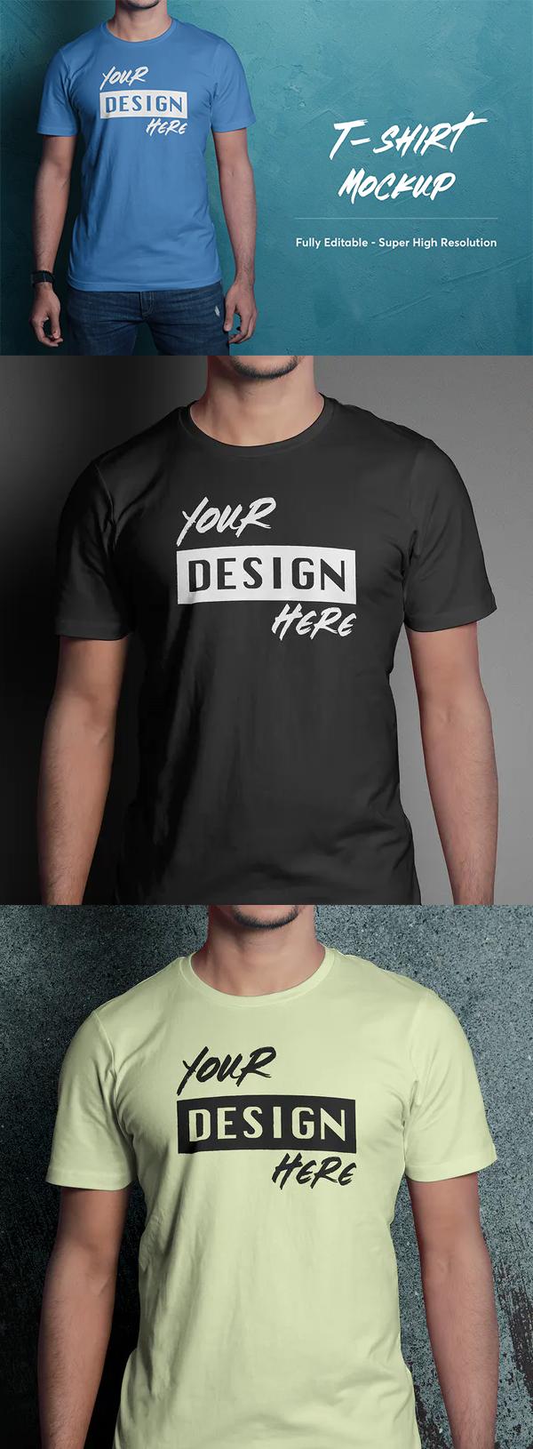 High-Quality T-Shirt Mockup