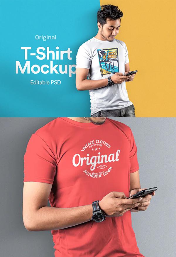 Perfect T-Shirt Mockup