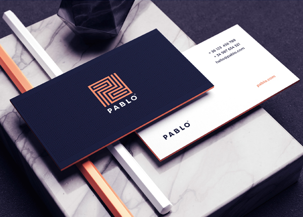 Business Card - Pablo Branding Identity by Andres Valderrama
