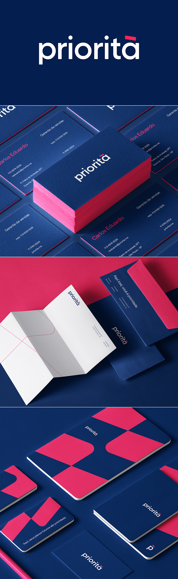 Business Card - Priorita Joao Branding Identity by Marcos