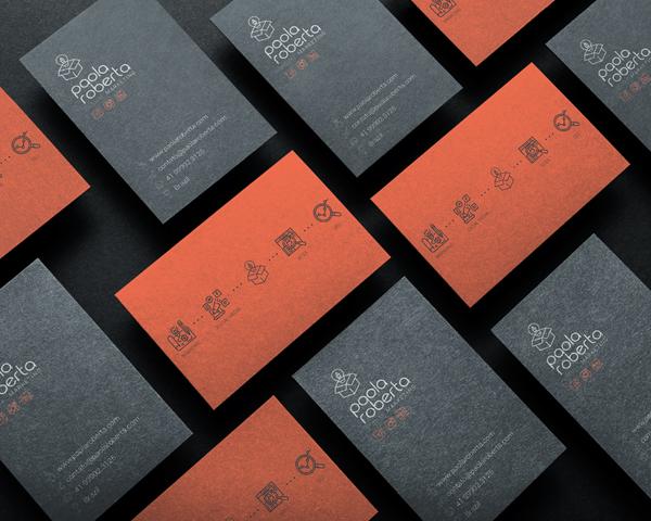 Business Card - Identidade Visual - Paola Roberta by Paola Roberta