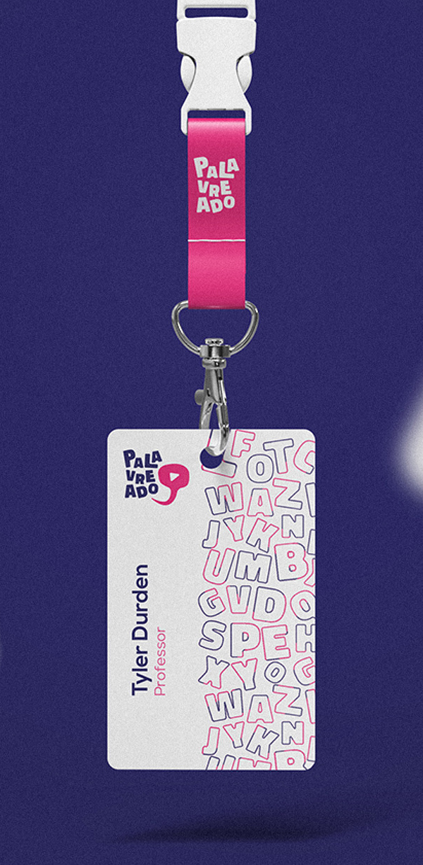 Business Card - Palavreado Branding Visual Identity by Ciano Design