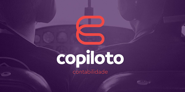 Logo - Copiloto Contabilidade - Visual Identity by Felipe Holman