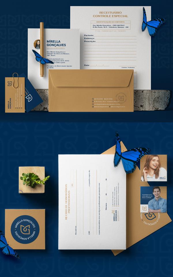 Stationery - Mirella Goncalves - Visual Brand by Klayton Fadul