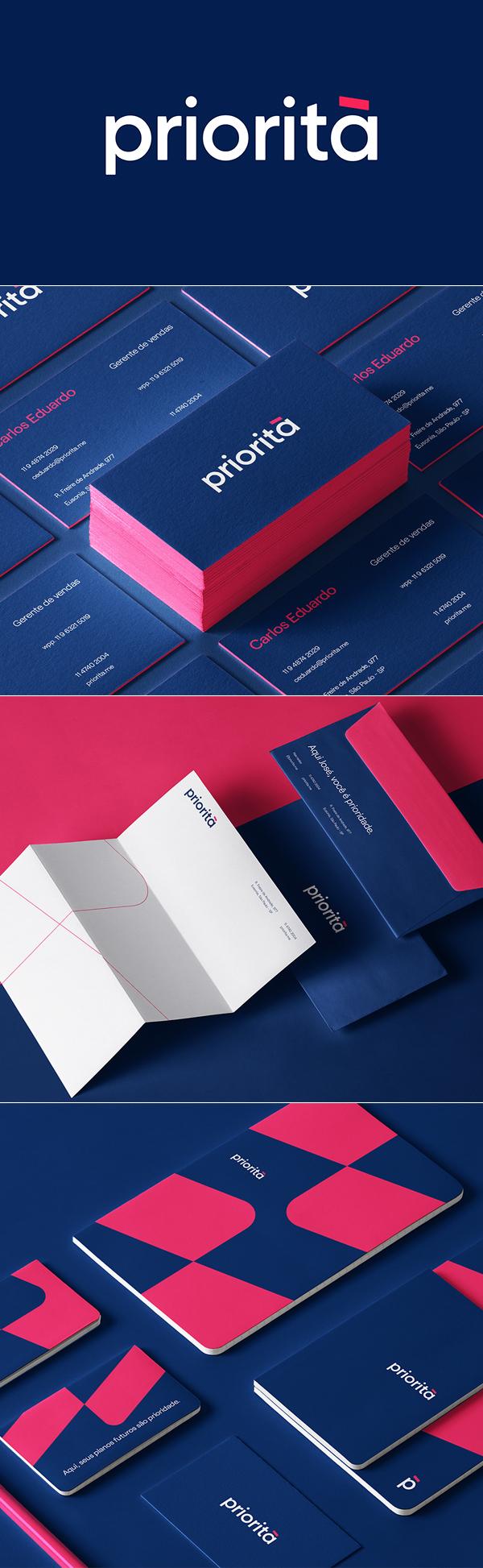 Stationery - Priorita Joao Branding Identity by Marcos