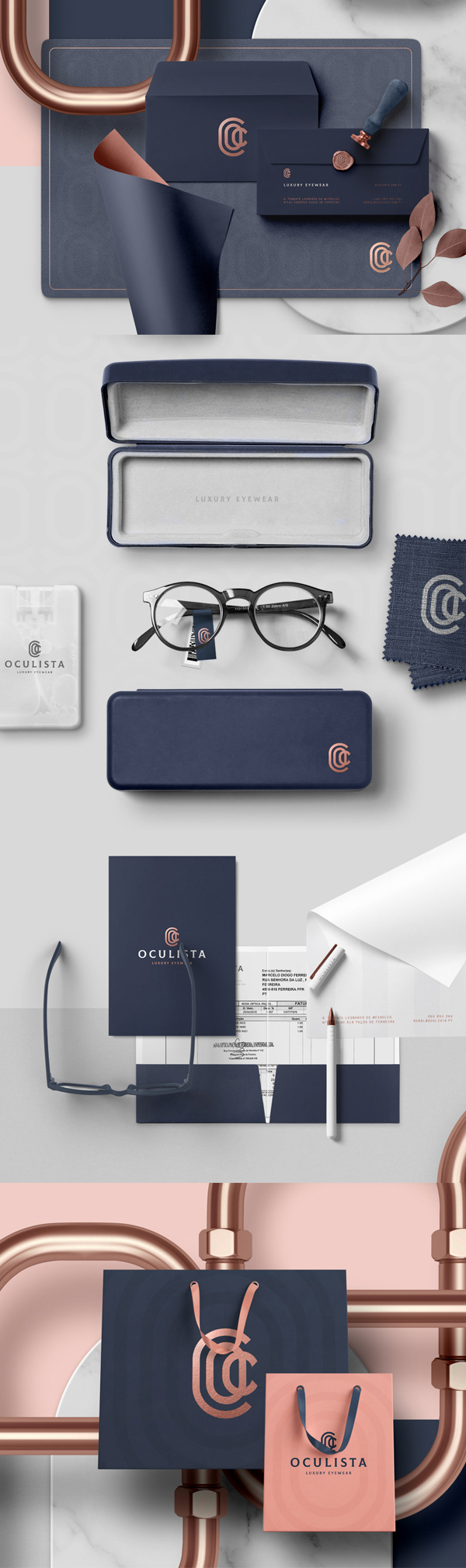 Stationery - Oculista - Branding by erva design