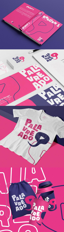 Stationery - Palavreado Branding Visual Identity by Ciano Design
