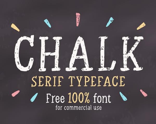 Chalk Serif Free Font