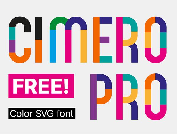 Cimero Pro Free Font