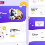 Creative Design Agency template