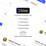 Dialy: Open source UI Kit for Figma