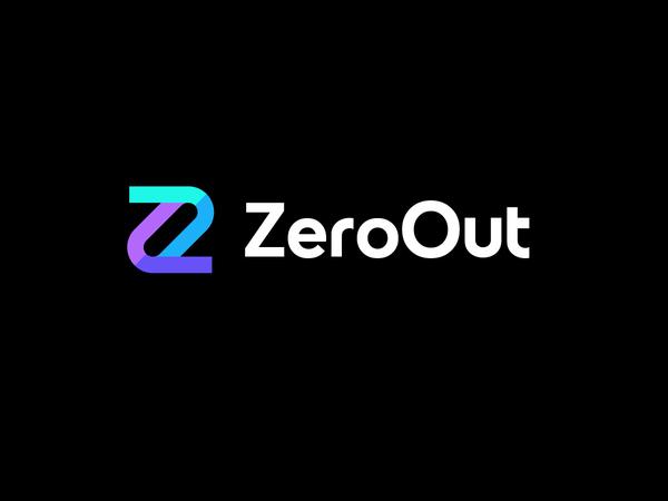 ZeroOut Logo Design by Deividas Bielskis