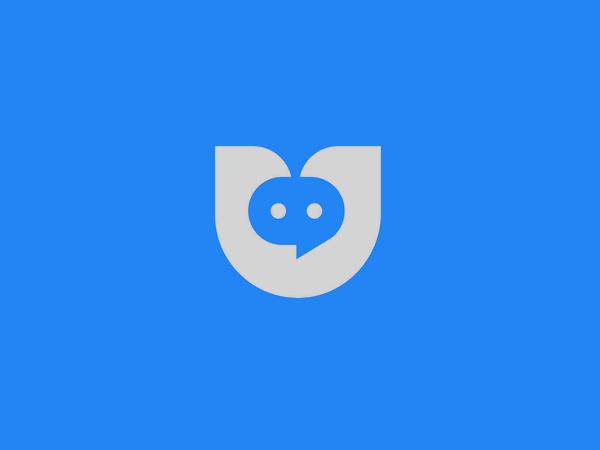 Utalk Logo design by Next Mahamud