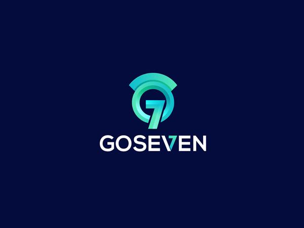 G Letter Logo - Goseven Logo Design by Nasir Uddin