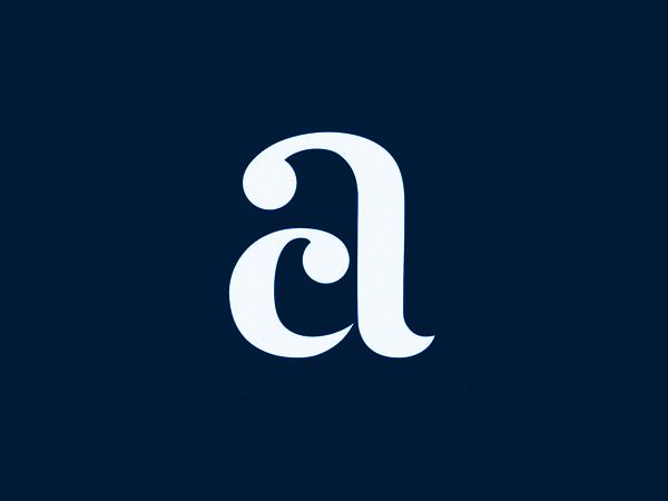 AC letters Logo design by Yuri Kartashev