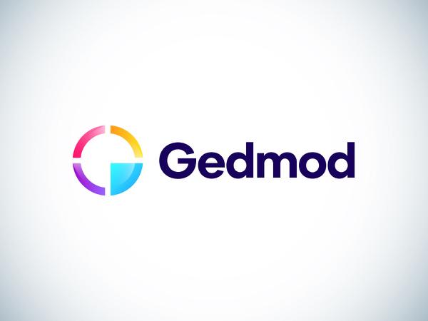 Gedmod Logo Design by Ashfuq Hridoy
