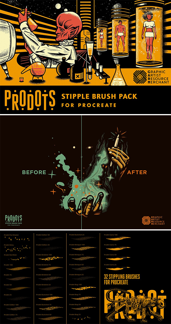 Prodots Brush Set (Procreate)