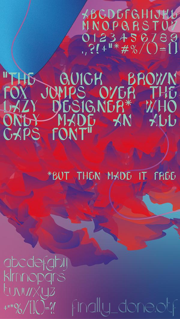 Siphe Font Letters