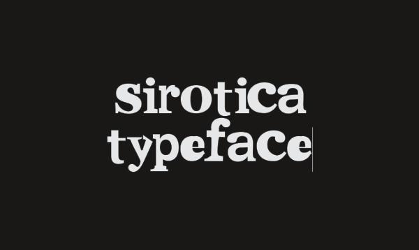 Sirotica Free Font