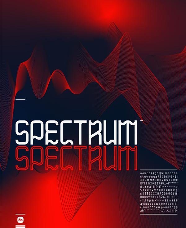 Spectrum Free Font
