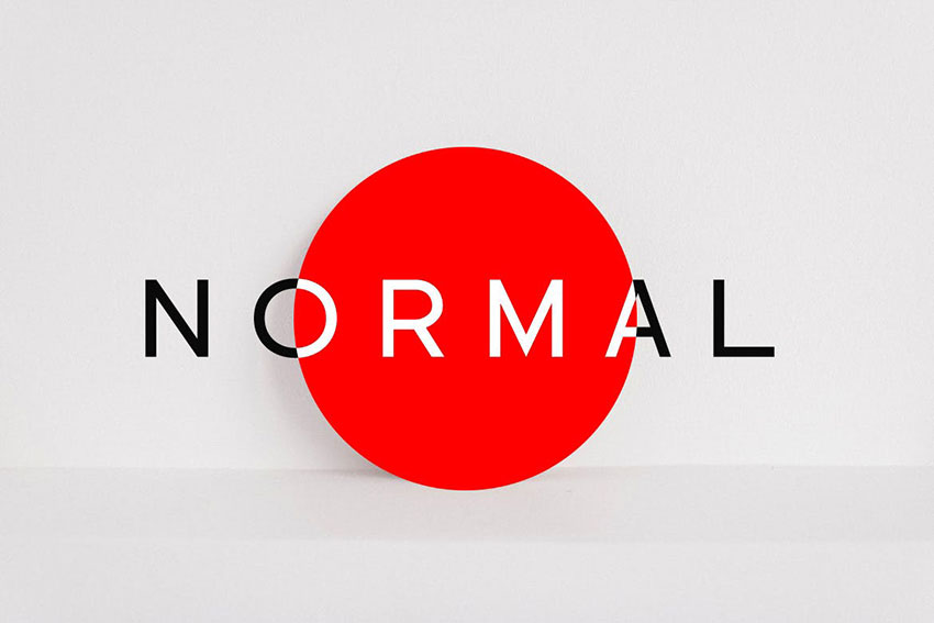 Norma, fonts like Arial
