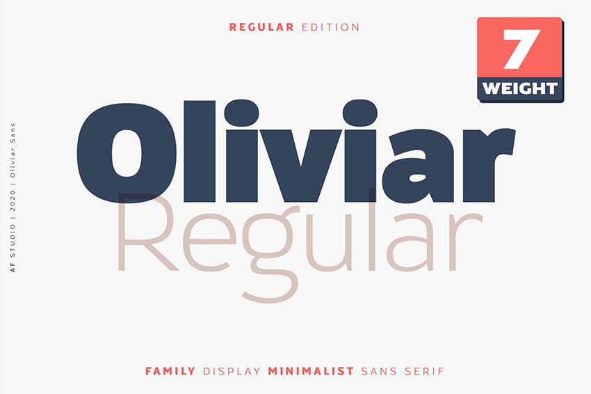 Oliviar, fonts like Arial