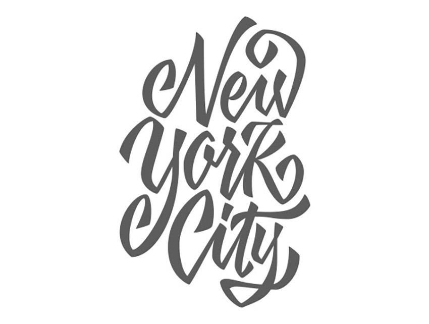 Hand Drawn Lettering Illustrator Tutorial Handling Bezier Filled Vector NYC