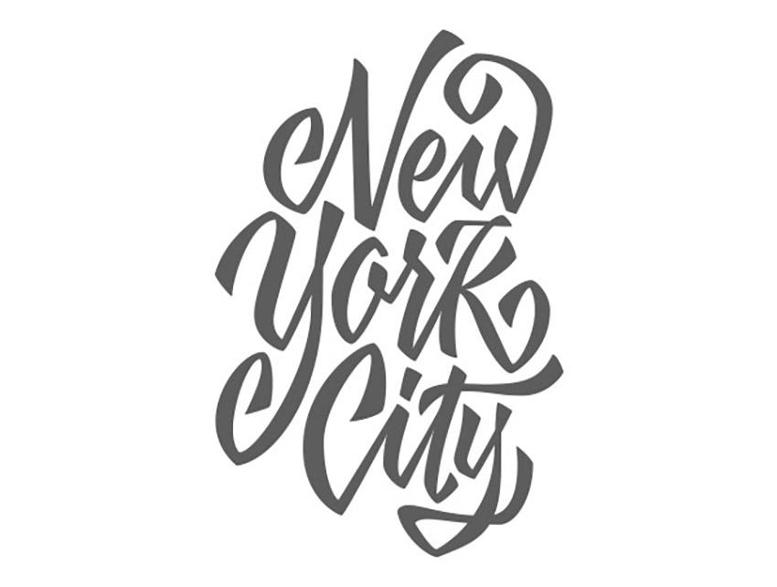 Hand Drawn Lettering Illustrator Tutorial Handling Bezier Filled Vector NYC Edited