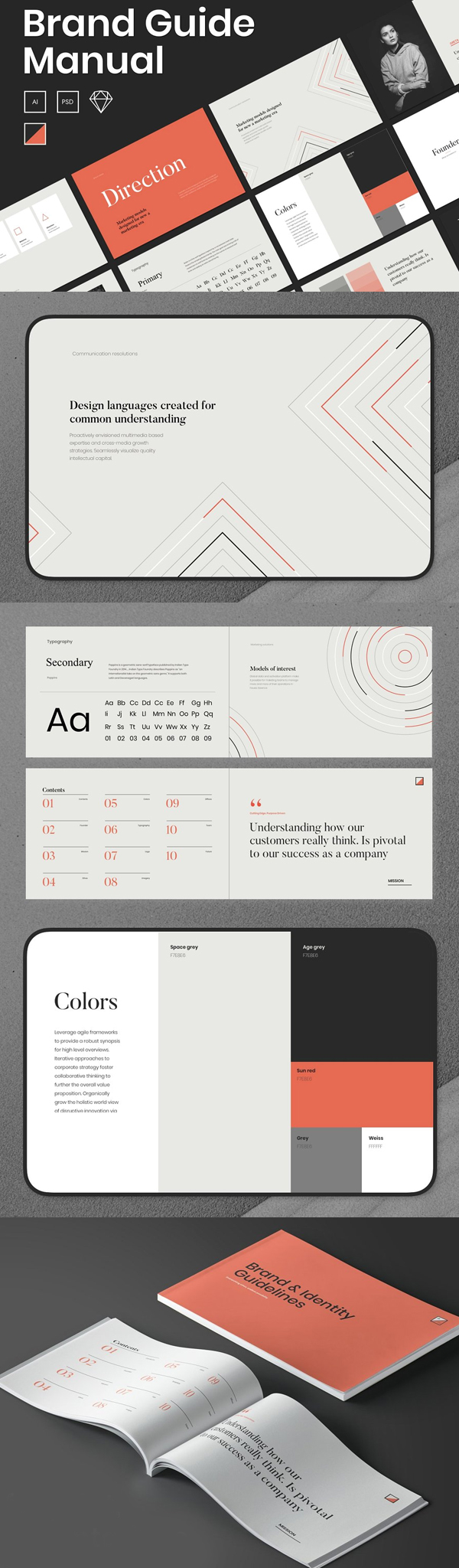 A Brand Guide - Branding Guidelines