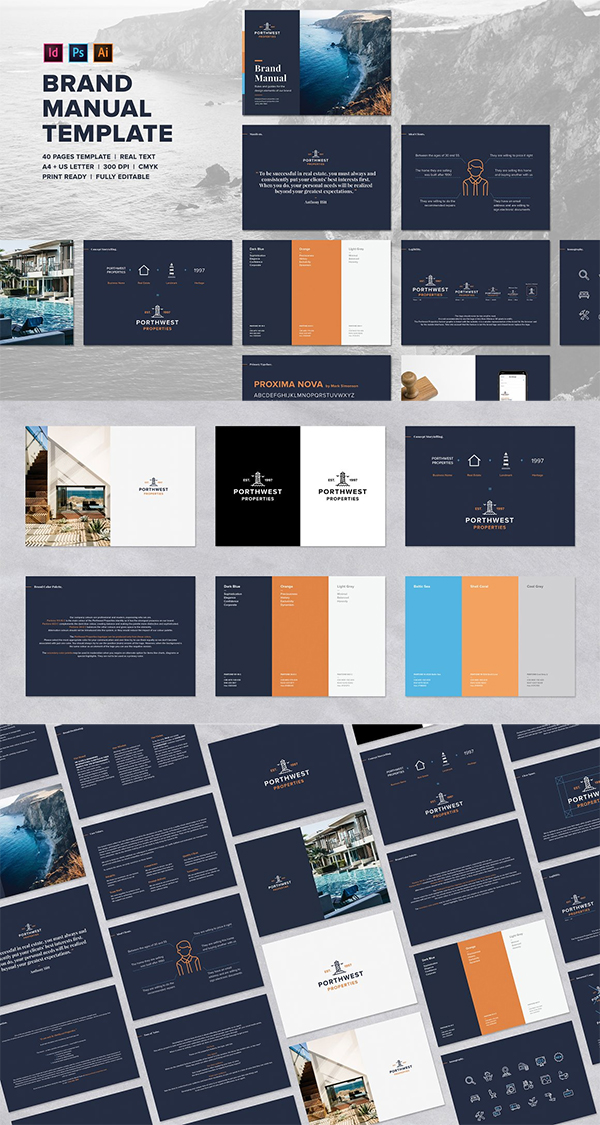 Logo Brand Guidelines Template