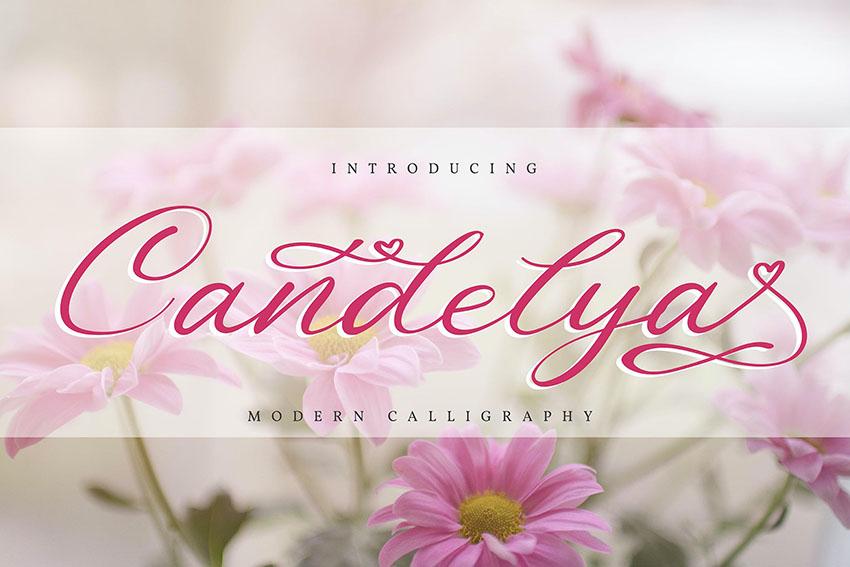 Candelya   Modern Calligraphy