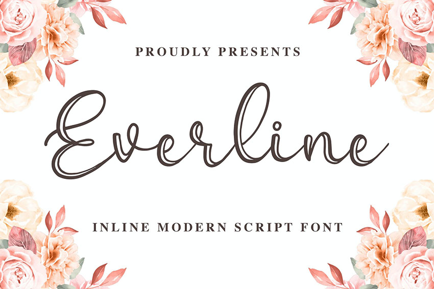 Everline - a Modern Calligraphy