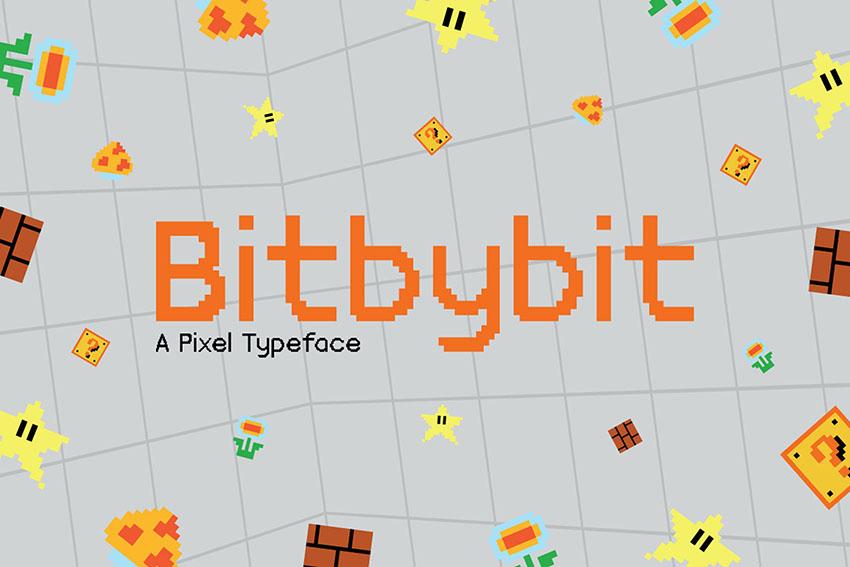 Bitbybit Font