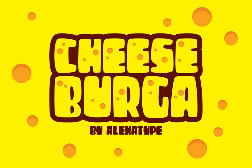 CHEESEBURGA - Chubby Cute Font