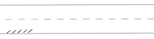 gothic script - upward serif strokes