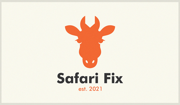 Safari fix logo design by Yuri Kartashev