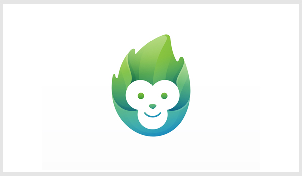 Monkey Logo Design by Yoga Perdana