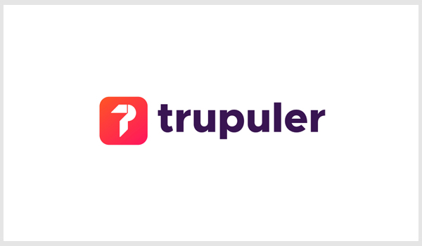Trupuler - Logo Identity TP letter logo mark by Only1Mehed•