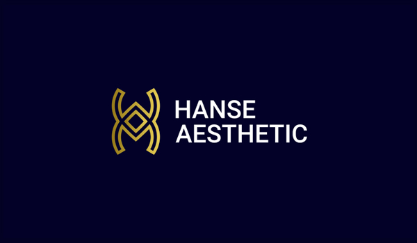 Hanse Aesthetic Logo Monogram Design by Abdul Gaffar