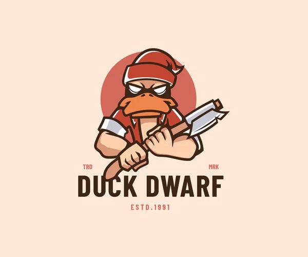 Duck Dwarf Logo
