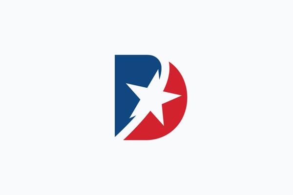 D Star logo design by Mahamud hasan Tamim