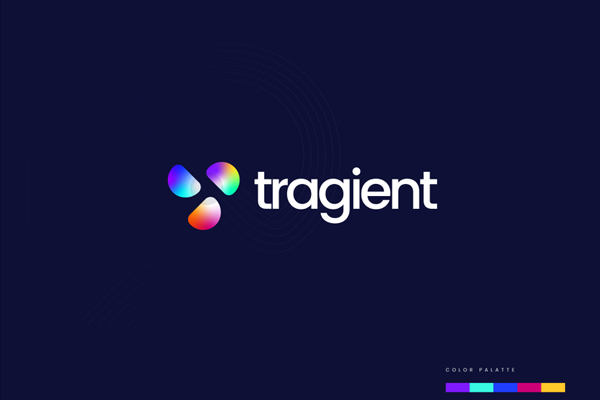 Gradient Colorful T Letter Logo Concept by Ahmed Rumon