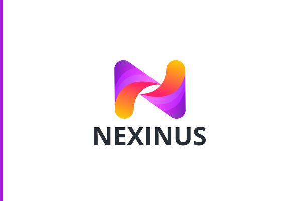Nexinus Logo Branding Design by Abdul Gaffar