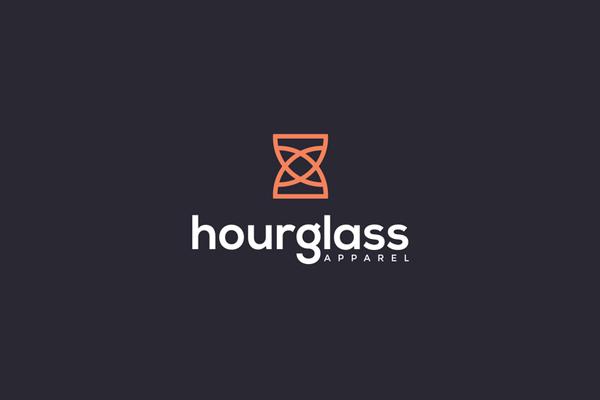Hourglass Logo Design by Prio Hans