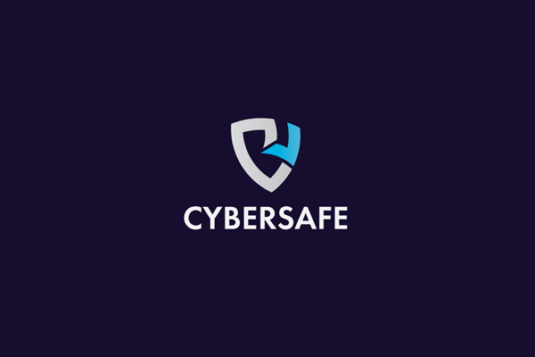 C letter, Cyber logo, Security logo by Touhidul Haque
