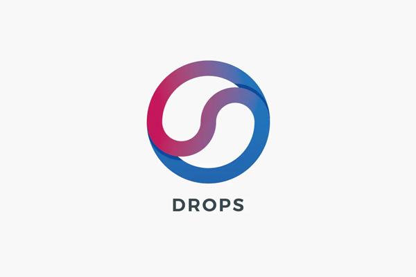 Drops Logo Template