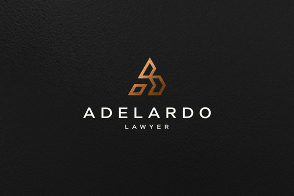 Adelardo Lawyer Logo Design by Aditya Dwi