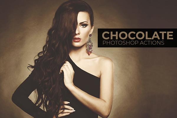 Chocolate Photoshop Actions