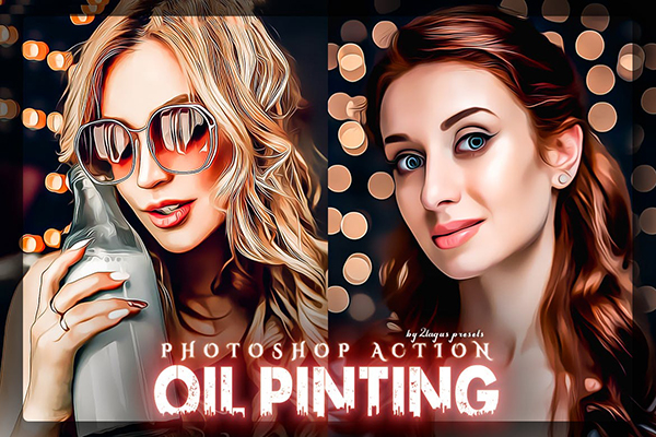 Oil Painting Photoshop Action