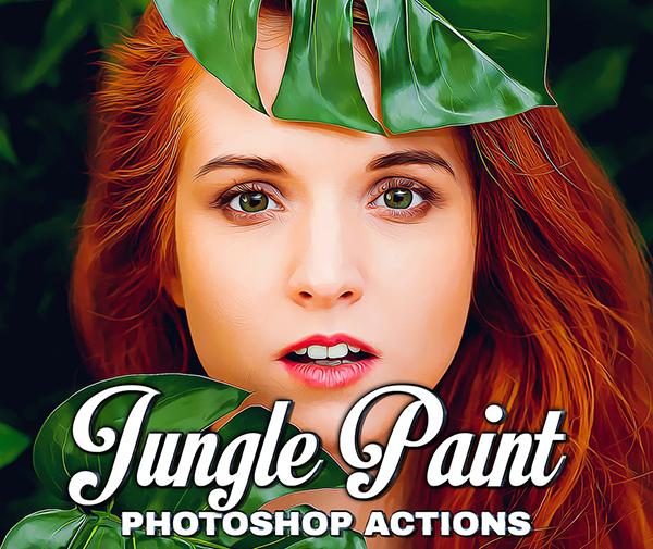 Jungle Painting Photoshop Action